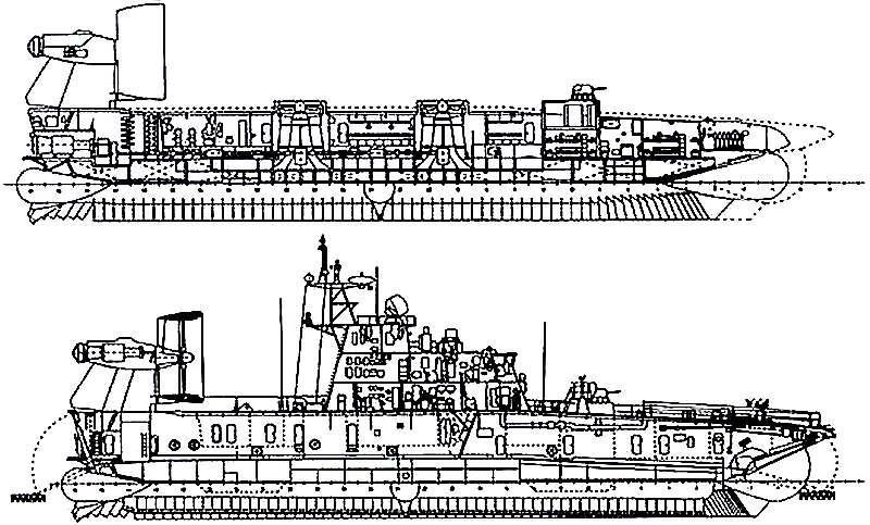 Схема МДКВП проекта 12322